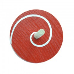 RED & WHITE SPINNING TOP