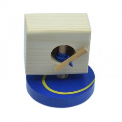 BLUE&YELLOW- SPINNING TOP &...