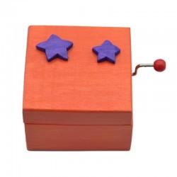Caja música naranja