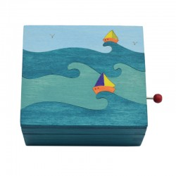 Caixa música Mar